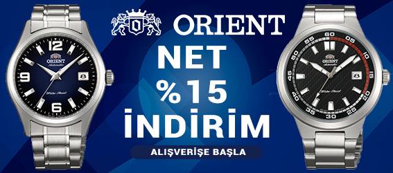 Yeni Sezon Orient Modellerinde Net %15 İndirim Fırsatını Kaçırmayın!
