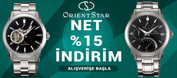 Yeni Sezon Orient Star Modellerinde Net %15 İndirim Fırsatını Kaçırmayın!