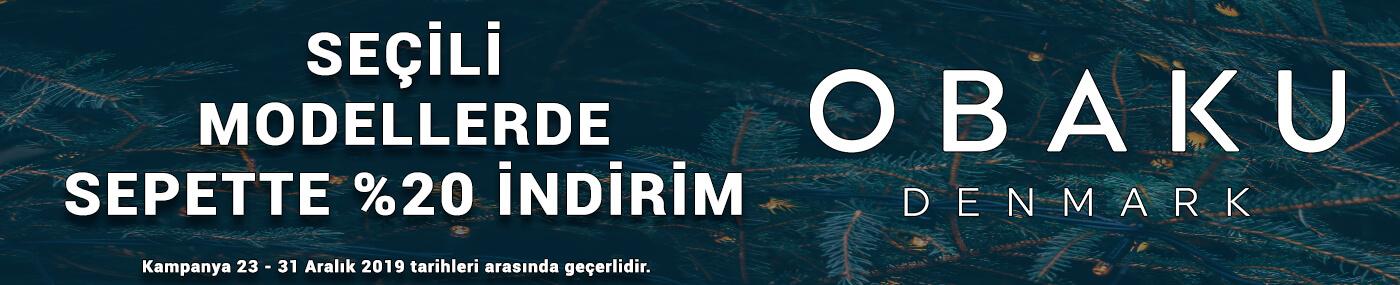 Obaku Denmark Yılbaşı Kampanyası