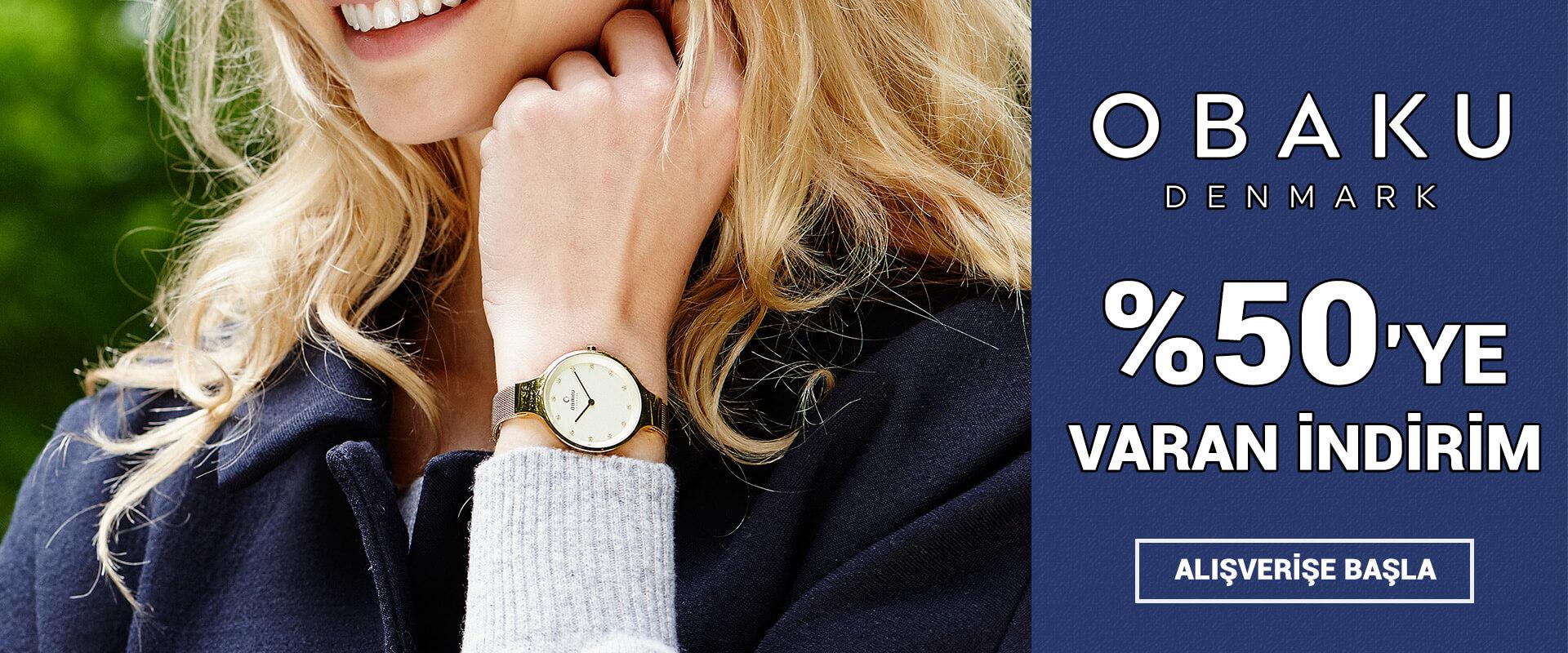 Obaku Denmark Saat Modelleri %50'ye Varan İndirim