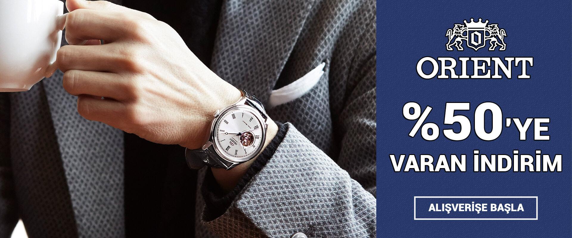 Orient Saat Modelleri %50'ye Varan İndirim