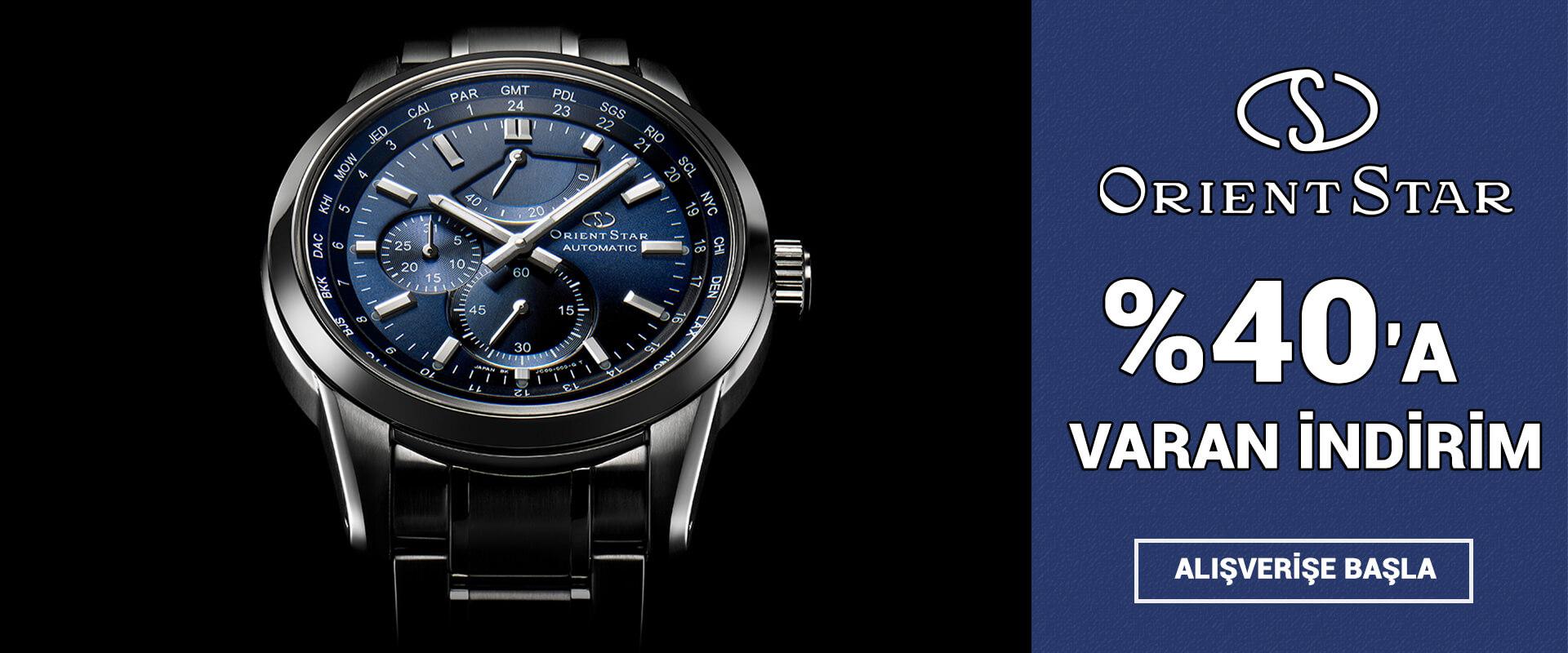 Orient Star Saat Modelleri %40'a Varan İndirim