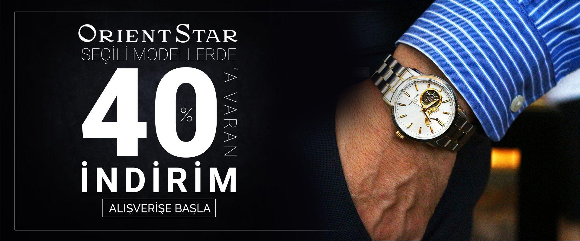 Seçili Orient Star Modellerinde %50'ye Varan İndirim